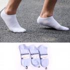 Men's Socks, Feets, cotton , White 40-45,5526