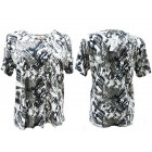 Women Blouse Shirt,Plus Size, Abstract L-4XL, 5418