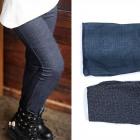 Leggings für Mädchen, Jeans, 140-158, 5698