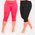 C17626 Pants, Plus Size, 3/4 length, Colors