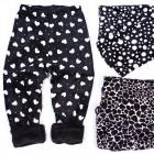 Bamboo Winter Girls Pants, Velor, 110-152, 5151