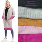 Women cardigan, coat, sweater stripes A8129