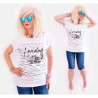 K535 Cotton Blouse, Women T-Shirt, Love London