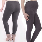 Bamboo Maternity Pants, 4XL-5XL, Gray, 4911