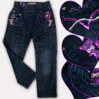 A19205 Pantaloni jeans per ragazze, 1-5 anni