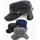 C1957 Chapeau d'hiver pour homme, velours côte