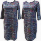 D4026 Dress, Made In Poland, Plus Size 44-52