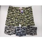 Bamboo men boxer shorts, 4XL- 7XL, Moro 6591