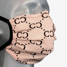 Schutzmaske, Baumwolle , Glamour, Träger, D5815