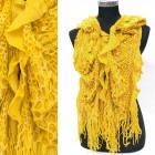 Warm Wool Scarf, Wavy Material, A12106