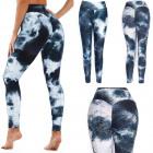Push-Up-Leggings für Damen, Sportlicher S-XL, Ombr