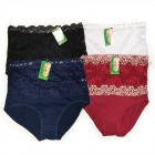 Women's Panties, Bamboo, Lace 2XL - 3XL, 5821