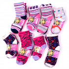 Kindersocken Baumwolle, Mixed Patterns, 22-34,4854