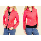 A28153 feminine jacket, Ramones, Eco Leather