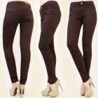 B16454 CLASSIC PANTS JEANS, CHOCOLATE BROWNIE