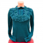 Wool Sweater S-XL, Lace and Fluff, D14119