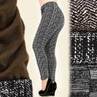 4137 Winter Women Leggings, Pants, Plus Size