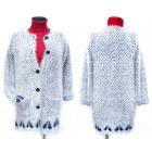 Cardigan moelleux pour femme, manteau, M-2XL, 5138