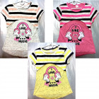 D405 T-Shirt for girls, printing, from 110-128