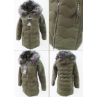 E11 Winter Jacket, Aztec Quilting, Khaki