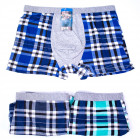 Cotton Men Boxer Shorts, L-3XL, Checkred, 5165