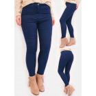 R53 Klassische Damen Jeans, Hohe Taille, Hosen, Bl