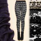 D2656 Velvet Leggings, Warmed Fur