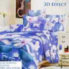 Bedding set, cotton, 200x230, 3 pieces, Z005