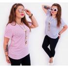 4517 Airy Women Blouse, Pretty Tunic, Plus Size