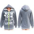 Womens Jacket, Hoodie with Fur inside, S-XL, 5212