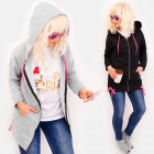 4492 Spring Hoodie, Pink Triangle