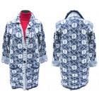 Fluffy Cardigan for Women, Collar, M-2XL, 5139