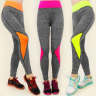 3918 LEGGINSY, SPODNIE FITNESS, GYM TRENDS MIX
