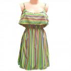 Women Summer Dress, M-2XL, C17809