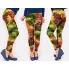 4303 Comfortable Leggings Legins, Autumn Birds