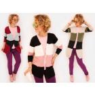 N026 Long Cardigan, Sweater Pattern in Belts
