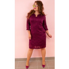 BI783 Lace Dress, Plus Size up to 56