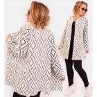 R55 Elegant Women Cardigan, Coat, Fluffy Knitwear