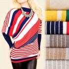 C22137 Traumhafter Pullover, Kimono, Gürtel, Kasch