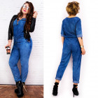 BI666 Comfortable, Cotton Overall, Steamed Jeans