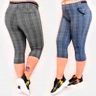 C17618 Pantalons pour femmes, grande taille, longu