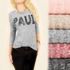 C11391 Fashionable Blouse, Tunic, Melange, Print: