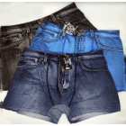 4822 Men Boxer Shorts coton , L- 3XL, Jeans
