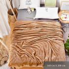 Blancket, Fluffy Plaid, Bed Coverlet 160x200, Z034
