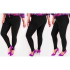 4295 Leggings Plus Size, Bamboo, Slim, Calssic