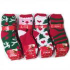 Frauen flauschige Socken, Weihnachten, 36-41, 5772