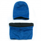 Classic Winter Cap and Scarf Set, Unisex, 5105