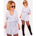 A1021 Shirt Womren Dress, Slimming Tunic