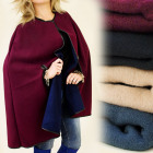FL258 ELEGANT capes, ponchos, spreading FIT
