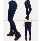 A862 Classic Cotton Leggins, Slim Line